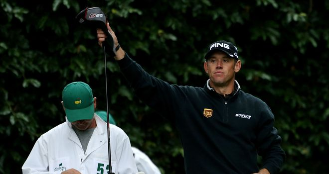Lee Westwood: Drove the ball as well as ever but his putter let him down at the last