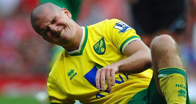 Marc Tierney: The Norwich defender's injury nightmare goes on after breaking down on his comeback and will not feature again this season