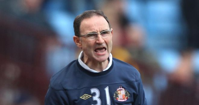 Martin O'Neill: Sunderland boss expects tough test against West Ham on Saturday