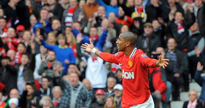 Ashley Young: Has won two debateable spot-kicks in recent weeks