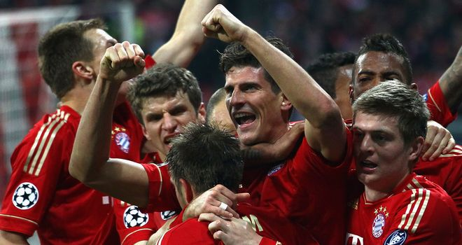 Mario Gomez: Says Bayern will be on the attack at the Bernabeu