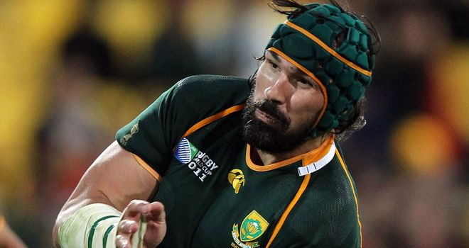 Victor Matfield: Could come out of retirement to lead Springboks against England this summer