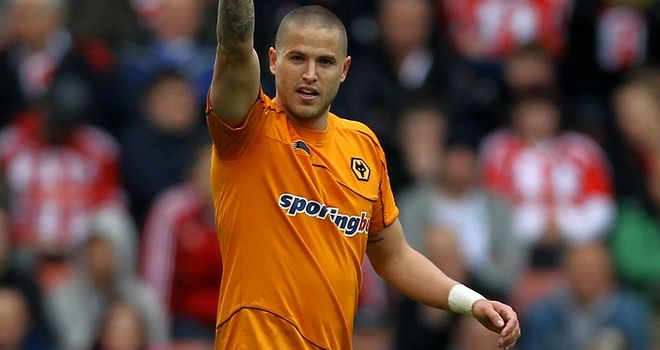 Michael Kightly: With just one year remaining on his contract, he could be leaving Molineux