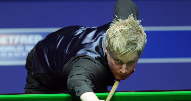 Neil Robertson: first win at The Cruicible for two years