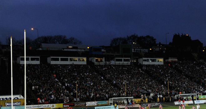 Odsal Stadium: Home of the cash-strapped Bradford Bulls