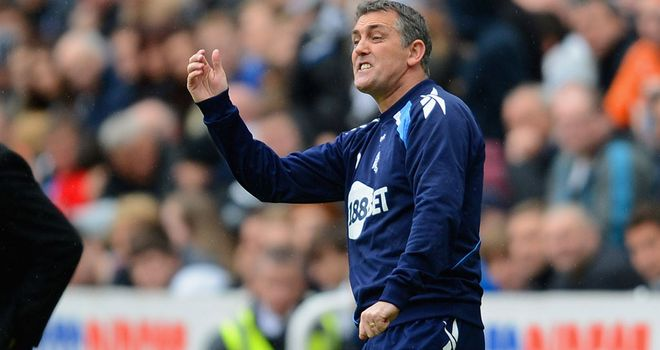 Owen Coyle: Prepared to take the relegation fight down to the last day of the season