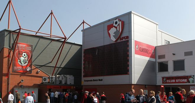 Goldsands Stadium: The home of AFC Bournemouth