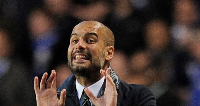 Guardiola: will join Bayern Munich on three-year deal in July
