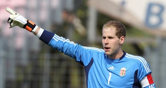 Peter Gulacsi: Set to return to Liverpool as cover for Reina and Doni