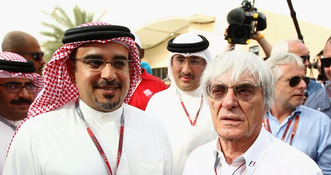 Bernie Ecclestone: Has warned European venues that they must improve