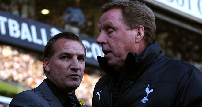 Harry Redknapp: Pleased to see managers like Brendan Rodgers having success in the Premier League