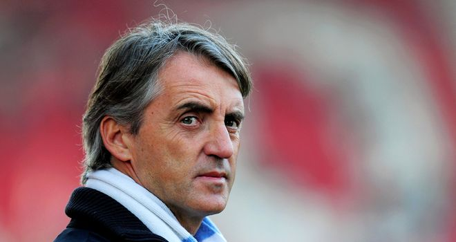 Roberto Mancini: Believes title dream is over if results go against City on Sunday