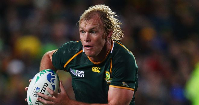 Schalk Burger: Returning to competitive rugby