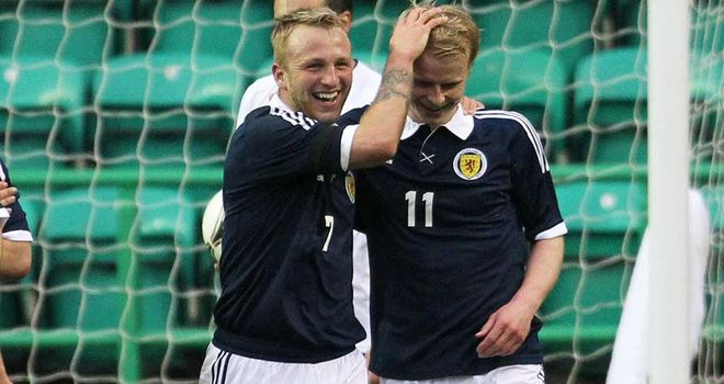 Johnny Russell: Hoping to make impact with Scotland