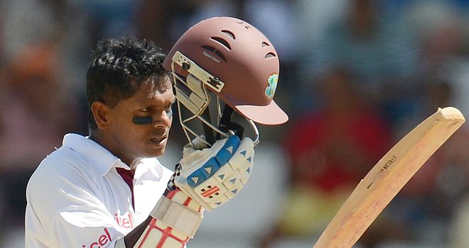 Shivnarine Chanderpaul: Should bat higher according to Brian Lara