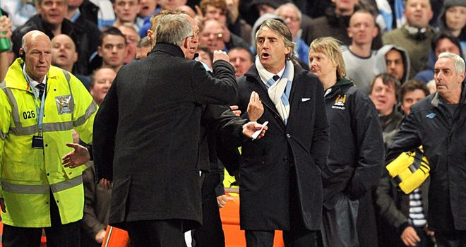 A night in which Sir Alex was outfoxed by his Manchester City counterpart