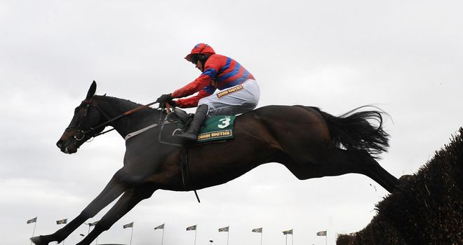 Sprinter Sacre: Schooled well ahead of His Cheltenham return