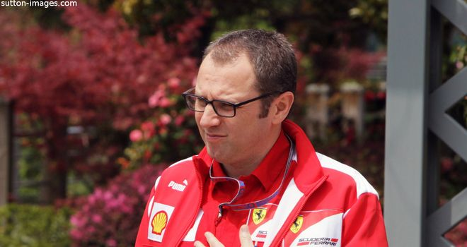 Stefano Domenicali: Not happy with Ferrari's 2012 performance
