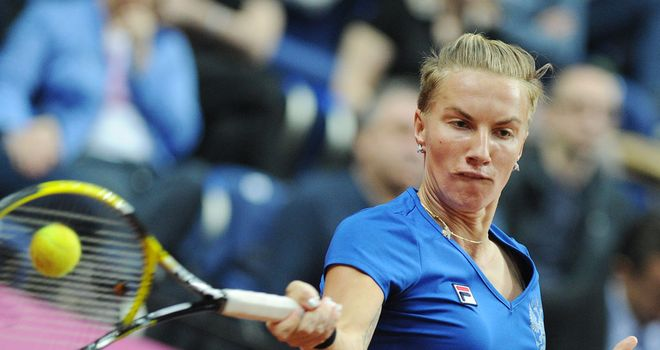 Svetlana Kuznetsova: Forced to retire in her match with Irina-Camelia Begu