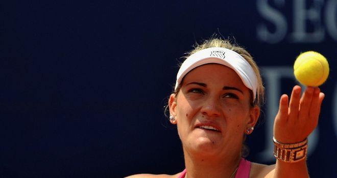 Timea Babos: Defending champion bows out