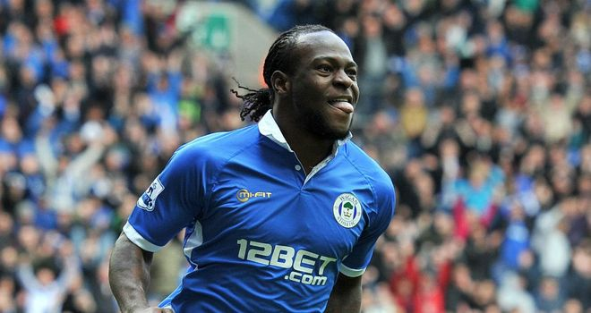 Victor Moses: Wigan winger has been offered a double-your-money deal to keep him out of Chelsea's clutches