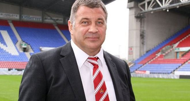 Shaun Wane: Not happy with Wigan in the second-half