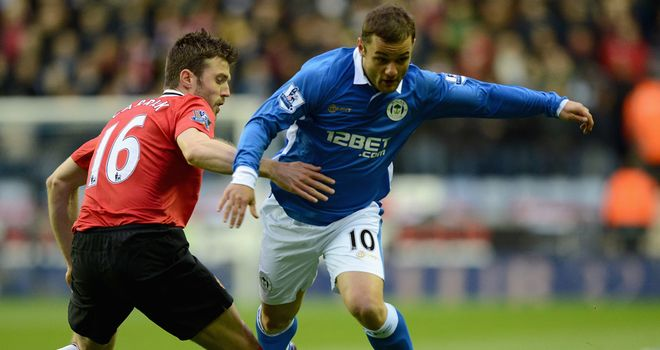 Shaun Maloney: Helped Wigan's recent resurgence after forcing his way into the side