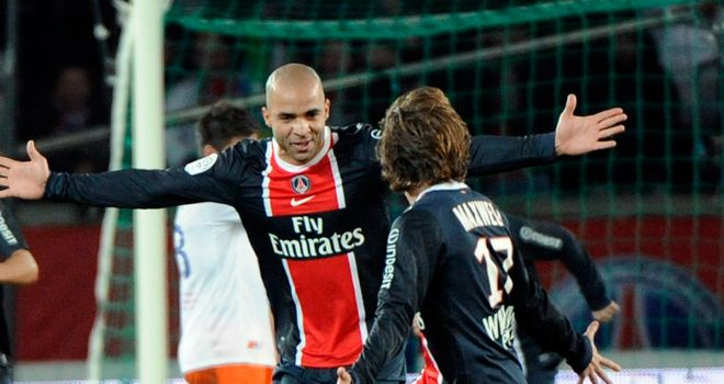 Alex scored the winning goal for Paris Saint-Germain at home to Marseille