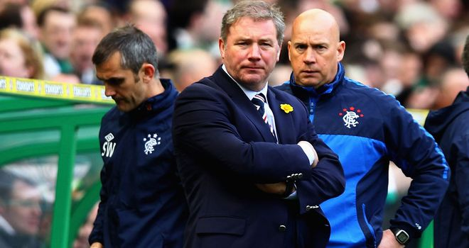 Ally McCoist: Determined to rebuild newco Rangers and feels for the club's fans