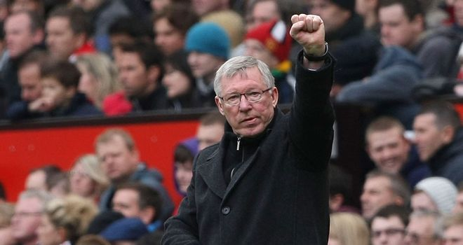 Sir Alex Ferguson: Insists United will be going for the win at City