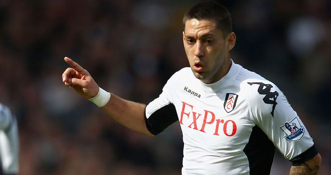 Clint Dempsey: Will still be at Fulham next season in the opinion of Martin Jol