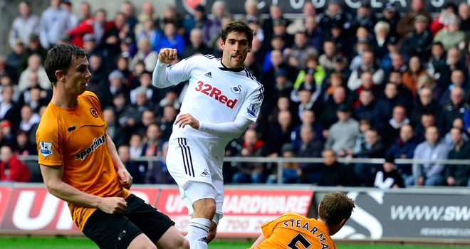 Danny Graham: Netted his 99th goal just after the half hour