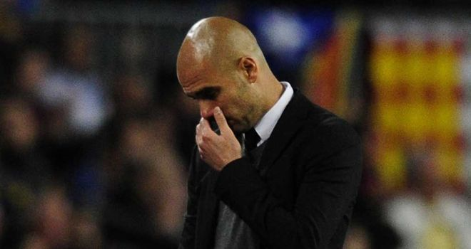 Pep Guardiola: Barcelona face a fruitless end to their campaign