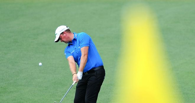 Peter Hanson: Shot an opening 68 to sit in atie for second after round one