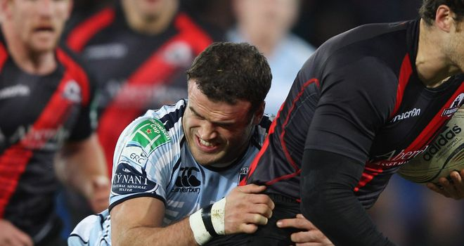 Jamie Roberts: Back in Wales colours on Saturday