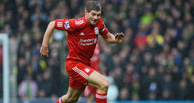 Steven Gerrard: Liverpool skipper driving his team forward