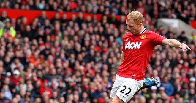 Paul Scholes: The Manchester United veteran has been influential since his return to the side in January