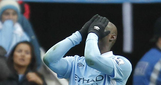 Mario Balotelli: Manchester City striker has apologised after being sent off against Arsenal