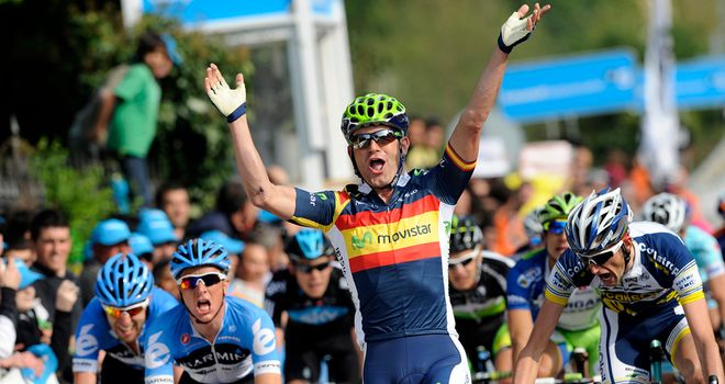 José Joaquín Rojas: Perfectly-timed sprint saw him land the spoils in Guenes