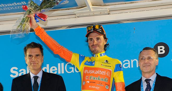 Samuel Sanchez: Put in a superb time trial display to clinch overall victory