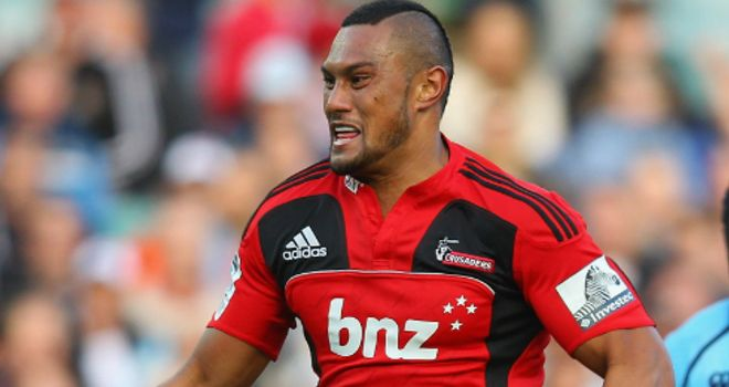 Robbie Fruean: crossed twice for the Crusaders