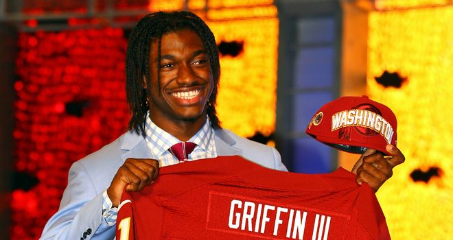 Robert Griffin III: Washington traded up to pick Baylor QB