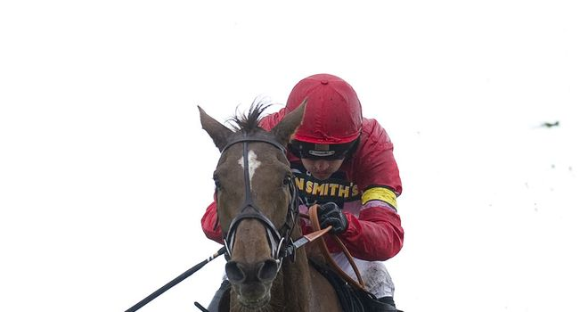 Silviniaco Conti: Easy winner of the Mildmay Novices' Chase