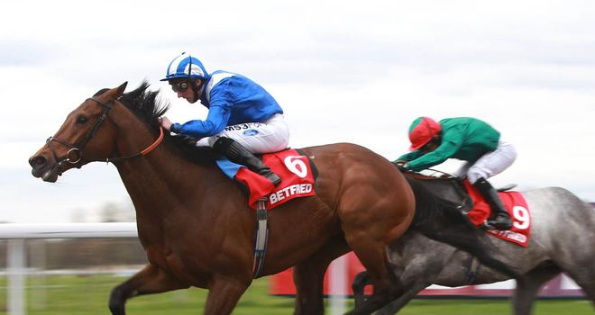 Thimaar proves too strong for Gulf Of Naples and now goes to Ascot for the Sagaro Stakes