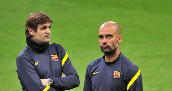 Tito Vilanova will sign a contract to replace Pep Guardiola as Barcelona boss on Friday