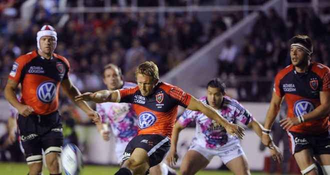 Jonny Wilkinson: enjoyed an outstanding season for Toulon