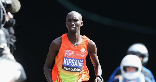 Wilson Kipsang: edged out fellow Kenyan Micah Kogo at the Great North Run