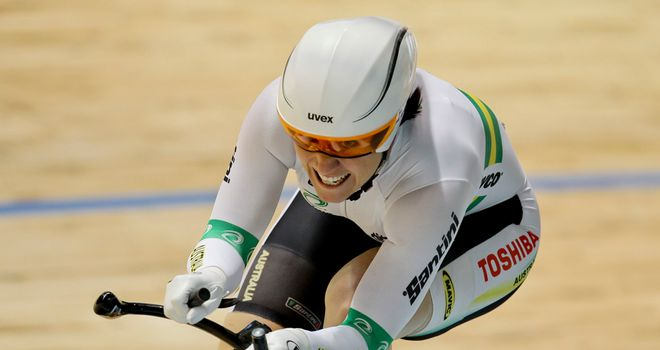 Anna Meares: Maintains desire to compete despite Pendleton's retirement