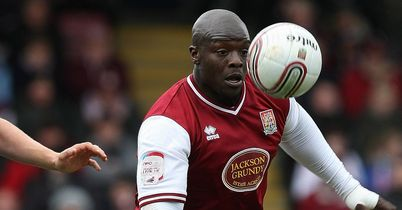 Akinfenwa: has thighs like a buffalo