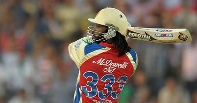 Chris Gayle: Jamaican opener batted throughout Royal Challengers Bangalore's innings
